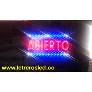 Cuadro LED Abierto