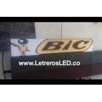 Pasamensajes LED RGB 16x96. Full Color. Semi-Outdoor. Excelente Visibilidad.