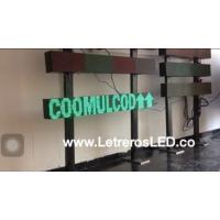 Aviso Programable LED Pasamensajes 16x128 verde. Exterior. USB.