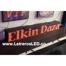 Pasamensajes Programable LED Sign. 16x128cm. Excelente Publicidad.