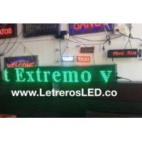 Pasamensajes LED 16x128 Tipo Exterior.