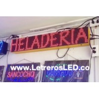 LED Sign Programable 16x96 Pixel.