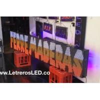 Pantalla LED Dot Matrix Programable 48x256. Exterior. 24 Horas Publicidad