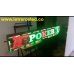 Pantalla LED Tri-Color (Rojo, Verde, Amarillo), 32X224cm, Soporta Lluvia y Sol. Conexion Ethernet y USB.
