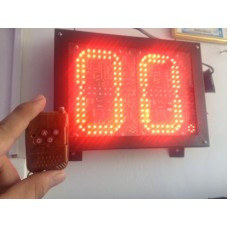 Cronometro LED Canchas Deportivas - Interperie, Conexion Inalambrica.