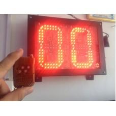 Cronometro LED Canchas Deportivas - Interperie, Conexion Inalambrica.