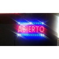 Cuadro LED Abierto. Diferentes Efectos.