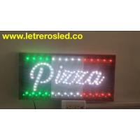 Cuadro LED - Pizza Blanco - Varios Efectos - Personalizado.