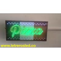 Cuadro LED - Pizza Verde - Multiples Efectos - Personalizado.